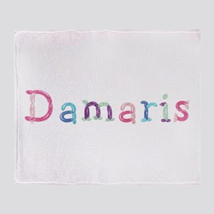 Damaris Princess Balloons Throw Blanket